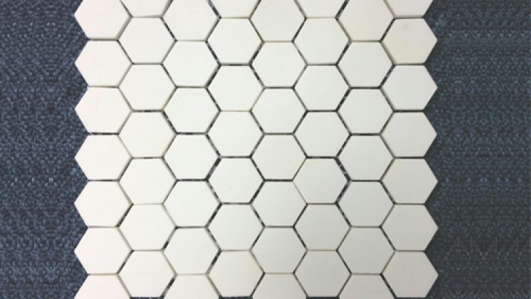 Alumina Hexagonal Tiles